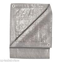 Tarp 12' X 24' Silver Tarp Cover Poly Tarp Cover