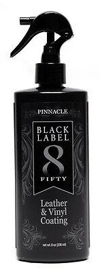 Pinnacle Black Label Leather & Vinyl Coating
