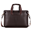 US Business Mens Soft Leather Briefcase Crossbody Shoulder Bag Laptop Handbag