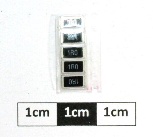 paquete de 5 Resistor de alimentación 2512 SMD 1R0 1 W