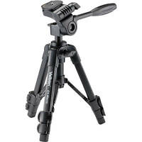 Velbon EX-Macro EX Macro Tabletop Tripod with 3-Way Pan Head and Case