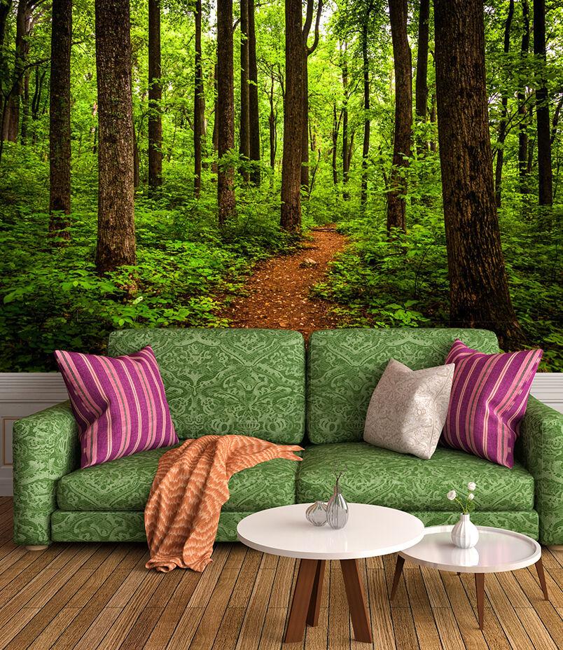 3D Green Jungle 56 Wall Paper Wall Print Decal Wall Deco Indoor Wall