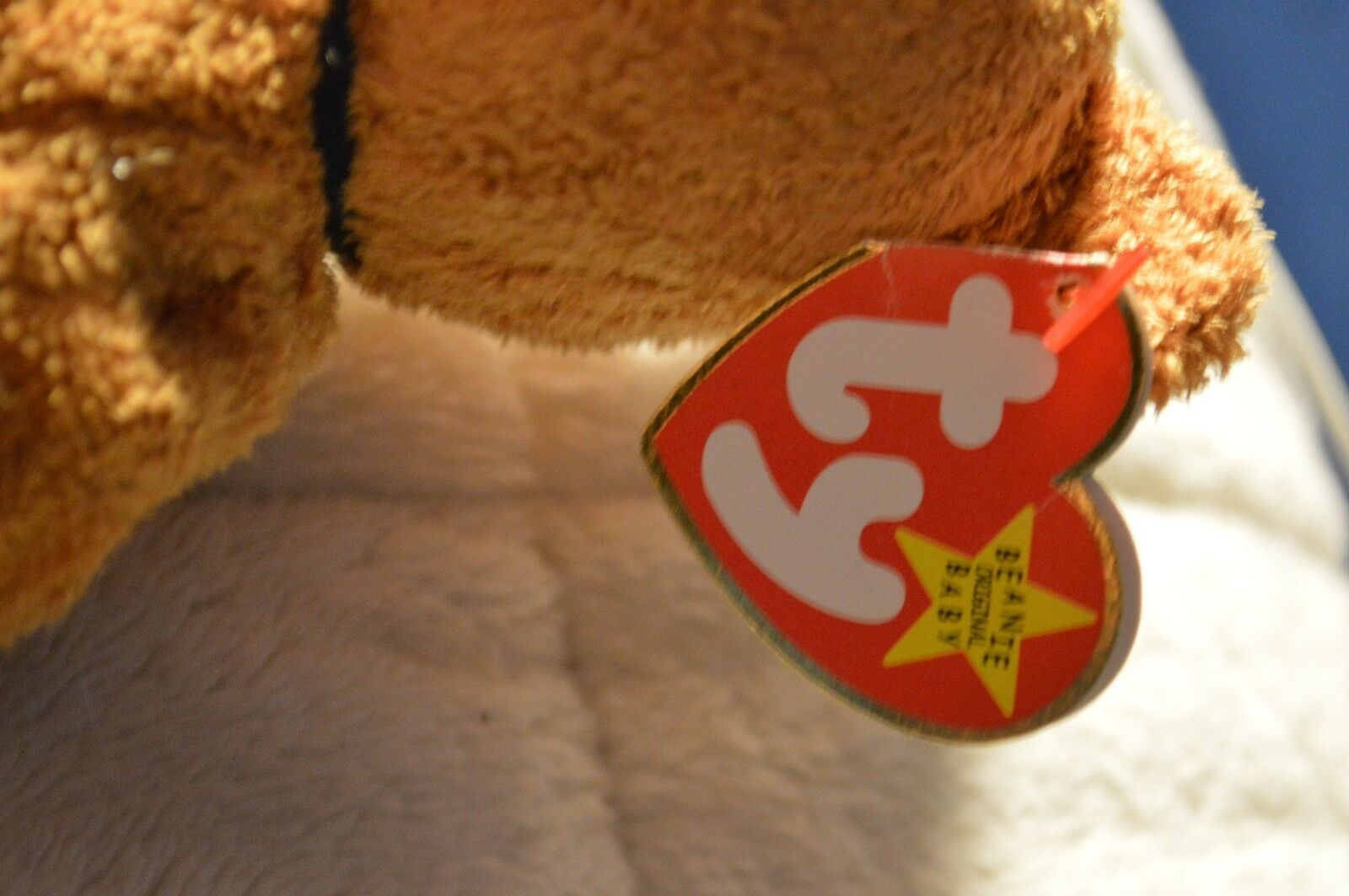 Beanie Original Baby Fuzz July 23,1998 Great Great Great Condition 438b46