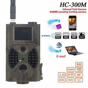 HC-300M-HD-Hunting-Trail-Digital-Animal-Wildlife-Camera-940nm-Scout-IR-12MP-GSM