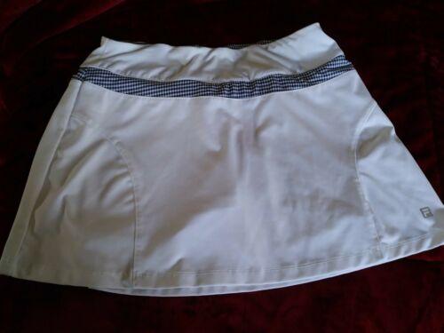 Fila White Skirt Size Small Lined Shorts Golf Tenn
