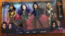 Disney Descendants 3 Isle of the Lost 4 Pack Dolls  ?? EVIE JAY MAL CARLOS ??NEW