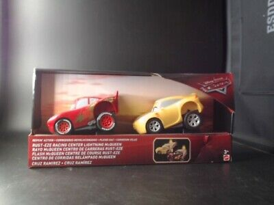 Disney Pixar Cars 3 Revvin Action Rust Eze Lightning Mcqueen