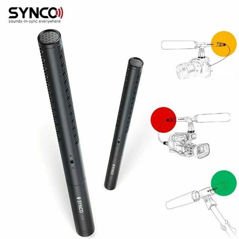 Synco Mic-D1 professional Hyper-cardioid Shotgun Microphone Condenser Low Noises