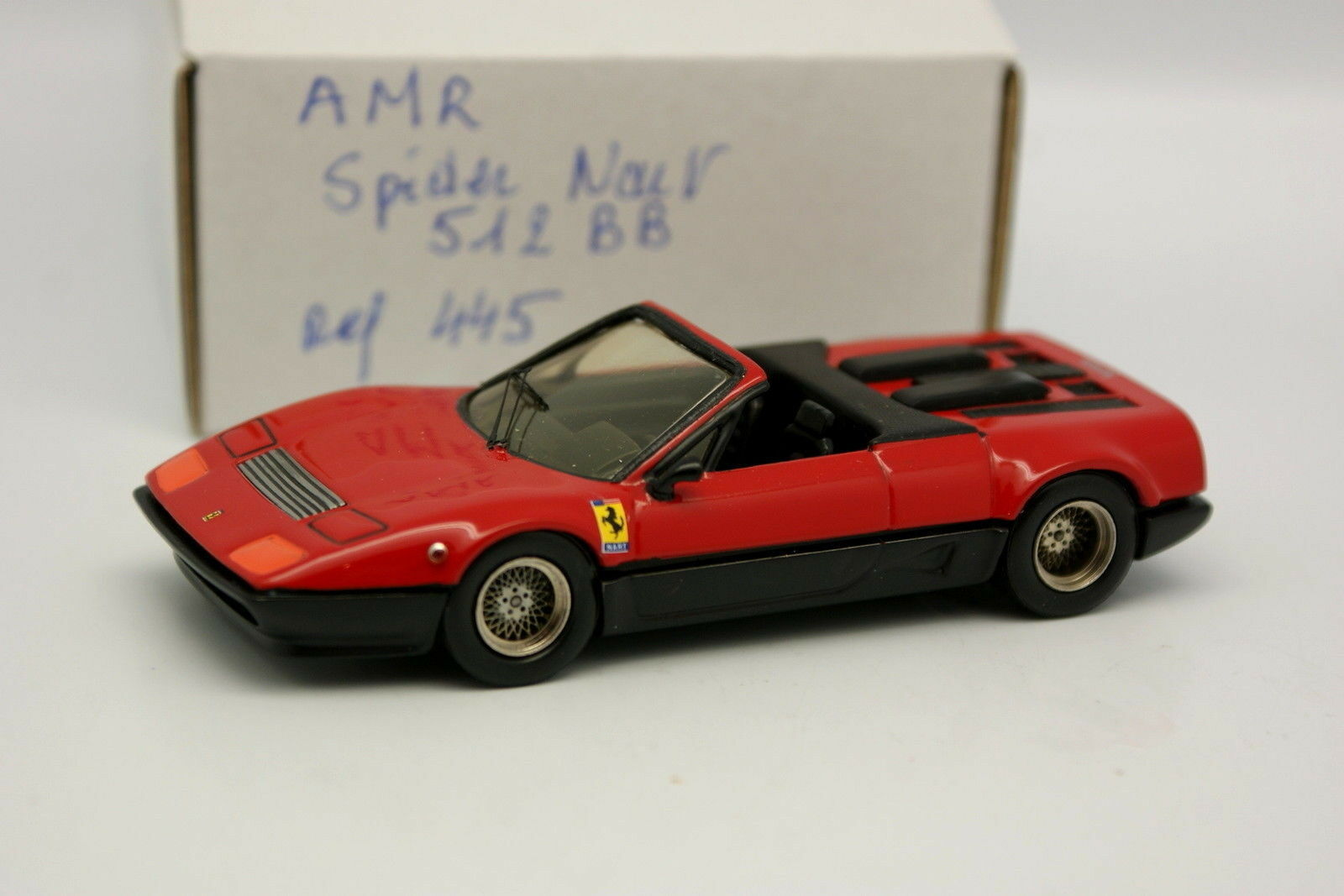 AMR Kit Monté 1 43 - Ferrari 512 BB Spider NART Rouge
