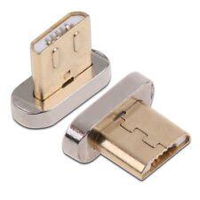 Neu Micro-USB-Ladekabel Magnetadapter Ladegerät für HTC LG Android-Smartphones