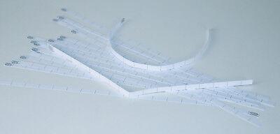 25 Log-Streifen PAPIER für Nano Restposten aus Papier plano geliefert