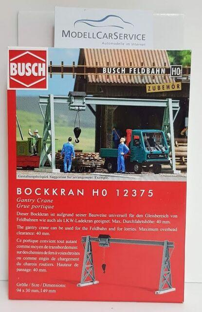 Busch 12375 Bockkran HO
