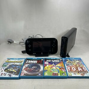 Nintendo Wii U 32gb Bundle With 4 Games