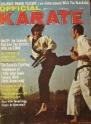 7/73 OFFICIAL KARATE JAY T. WILL FORREST BLAIR BLACK BELT KUNG FU MARTIAL ARTS