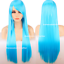 80cm-Long-Straight-Women-Cosplay-Costume-Party-Hair-Anime-Wigs-Full-Hair-Wig miniature 7