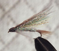 Shiner Streamers  Size 12 - 1 Dozen Wet Trout Fly F790