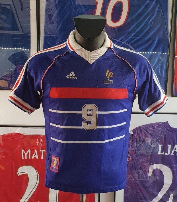 Maillot Shirt Maglia Camiseta Francia 98  1998 XS Zidane 2018 sin Estrella  están haciendo actividades de descuento
