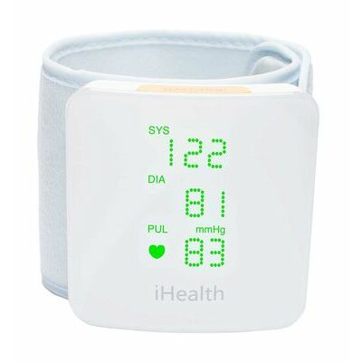 iHealth View (BP7s) Wireless Bluetooth Wrist Blood Pressure Monitor -iPad/iPhone