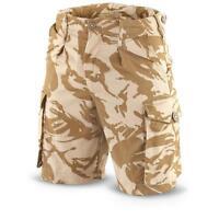 Genuine British Army Surplus Desert Combat Shorts DPM Camo Waist All Sizes