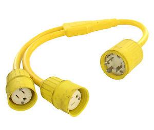 """#530Y515 Bryant Marine Style /""""Y/"""" Plug Adapter"""