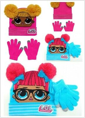 Hat /& Glove Set with White Pom Pom FAB Starpoint LOL Surprise