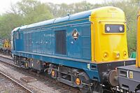 British Rail Class 20205 NORDEN- 6 x 4 Quality Photo Railway Print