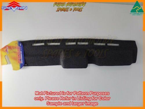 Black Dashmat for TOYOTA Landcruiser 70 Series 1//1985-2//2007 Dash Mat DM130