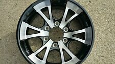 15X6  ALUMINUM  TRAILER  RV  WHEELS 6 x 5.5 LUG  TRAILER CITY DIRECT WOW PRICE!