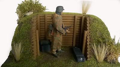Diorama Basis-Set. 1 Schützengräben/Stellungsbau 1:16 (48) **Neu**