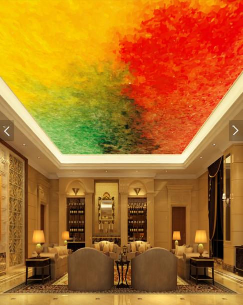 3D Farbiger Sand 73 Fototapeten Wandbild Fototapete BildTapete Familie DE Kyra | Bequeme Berührung  | Abrechnungspreis  | Attraktives Aussehen