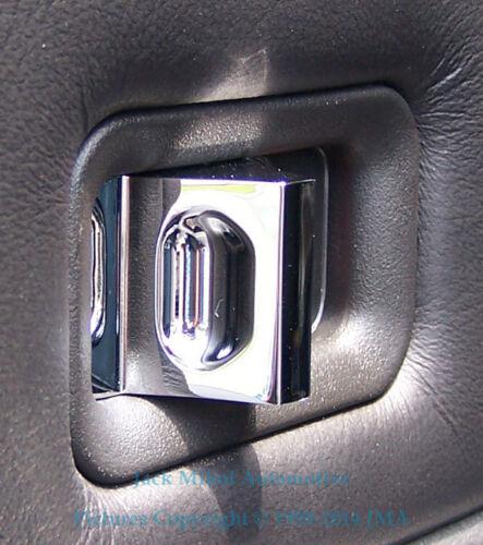 Set of 4 Chrome Billet Aluminium Door Lock Knobs for HUMMER H2 SUV /& SUT