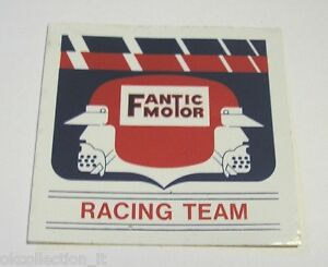 Old Sticker FANTIC MOTOR CROSS cm 21 x 7 ADESIVO MOTO anni /'80