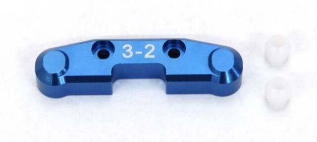 Yeah Racing Rear Arm Mount D 3-2 For Team Associated SC10 4X4 #SC10X-019-32DB