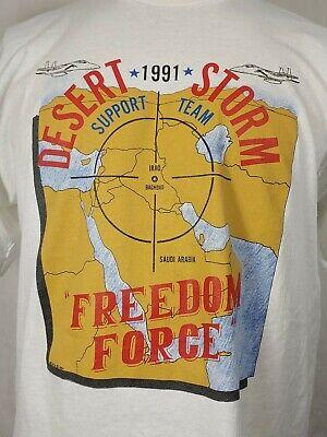 Vintage Military Operation desert storm shirt