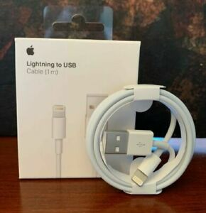 Details about Original OEM 3ft Apple iPhone XS Max X 8 7 6 Plus Lightning USB Cable Charger 1M