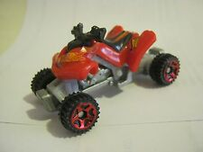 Hot Wheels McDonalds Meal Red Sand Stinger ATV, dated 2012  (EB20-5)