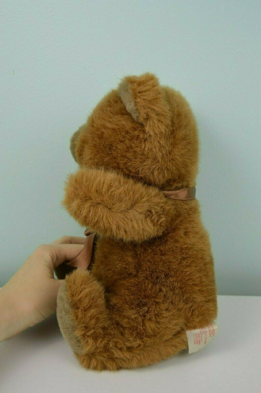 Vintage Fairview Teddy orso Plush Stuffed Animal giocattolo Marroneee Bow Bow Bow 10  1990 9a9323