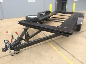 Brand new tandem car trailer ft t atm narrow for garage only