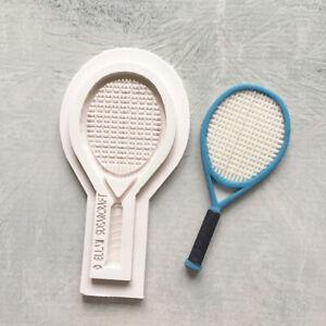 Sécurité Alimentaire Ellam Sugarcraft M0173 grand 12.5 cm Raquette de tennis Moule Silicone