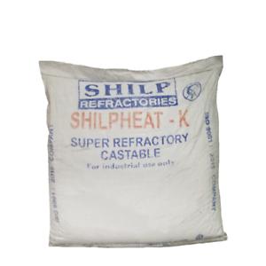 Details about Castable Refractory Cement, 60% Alumina Dense Castable, 55 LB
