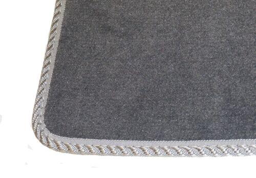 Tailored Custom Car Floor Mats Set Fits Ford Focus 2011-2014 Black Colour Carpet