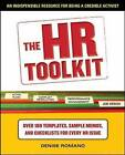 The HR Toolkit: An Indispensable Resource for Being a Credible Activist by Denise Romano (Paperback, 2010)