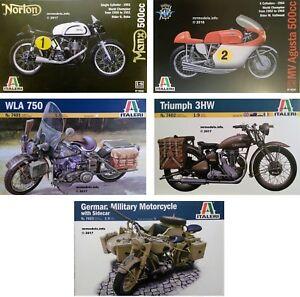 Italeri-1-9-Motor-Bike-New-Plastic-Model-Kit-1-9