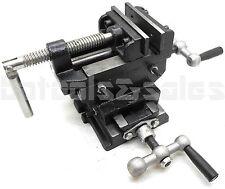3 Cross Slide Vise Drill Press Heavy Duty Metal Milling 2 Way X Y Clamp Machine