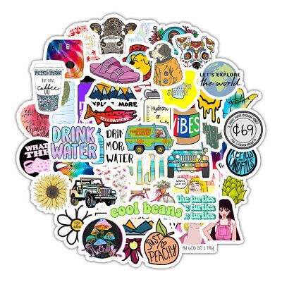 50 Funny VSCO Stickers Cute Trendy Aesthetic Waterproof ...