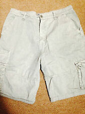 Men's Gray D-Lux  Cargo Shorts Size 36 Nice!!!