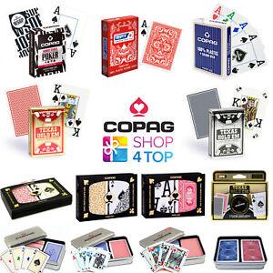 COPAG-100-PLASTIK-SPIELKARTEN-KARTEN-ZAUBERTRICKS-ZAUBERKARTEN-USPCC-ORIGNAL