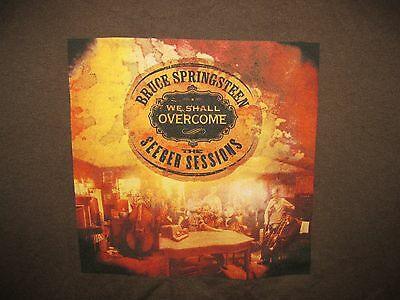 NEW Bruce Springsteen W//Seeger Sessions Band 2006 Euro Tour T-Shirt ~ X-LARGE!
