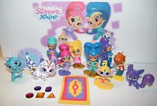 Nick Jr. Shimmer and Shine Party Favors Set of 17 with12 Figures and Genie Gems