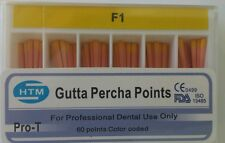 F1 Gutta Percha Points Htm Box Of 60 Dental Root Canal Compatible With Protaper